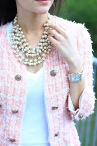 pink vintage chanel
